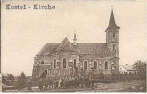 Kostel Všech svatých z roku 1910