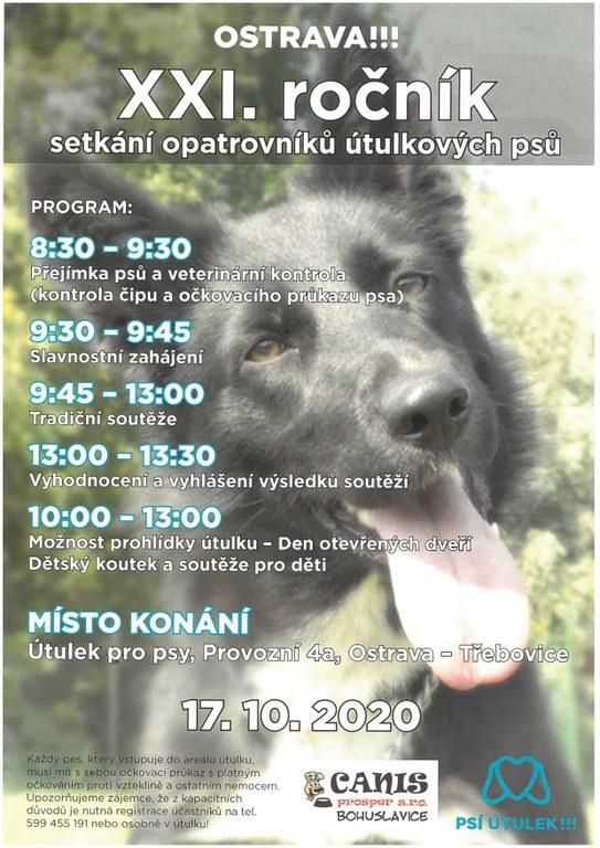 XXI. ročník setkání opatrovníků útulkových psů