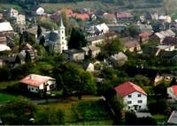 Pohled na Hošťálkovice- rok 2000